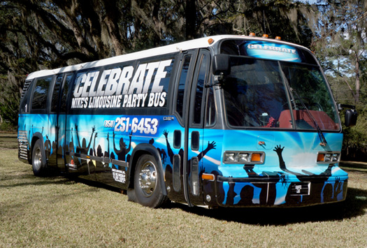 Celebrate Party Bus Prom Party Nightclubs Tallahassee