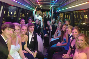 Celebrate Prom Party Bus Tallahassee