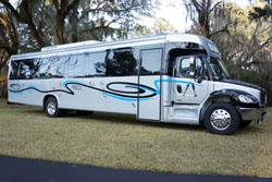 40 Foot Land Yacht Party Bus Orlando, Tallahassee, Valdosta, Tampa, Jacksonville, Macon