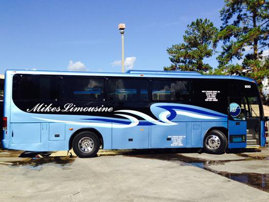 Standard Mci F 3500 Motor Coach Limo Busses High School