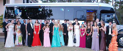 Tallahassee Limousine Party Bus Prom Weddings