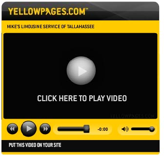 Mikes Limousine Video from Yellowpages.com prom limos weddings Tallahassee, Panama City Jacksonville